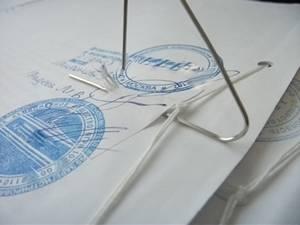 Как сшивать документы п12