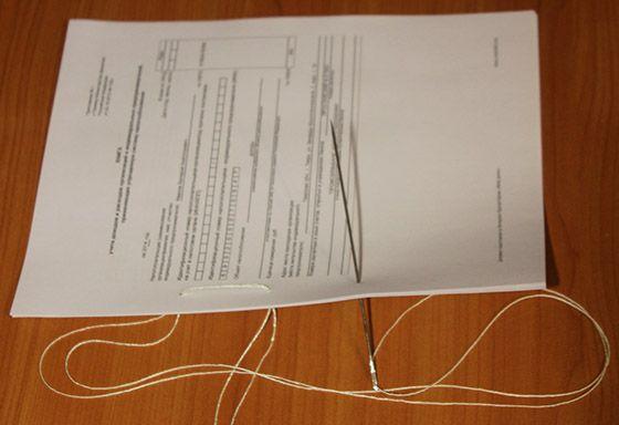 как прошить и заверить документы образец - фото 3