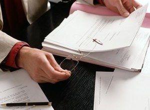 Подготовка документов для налоговой
