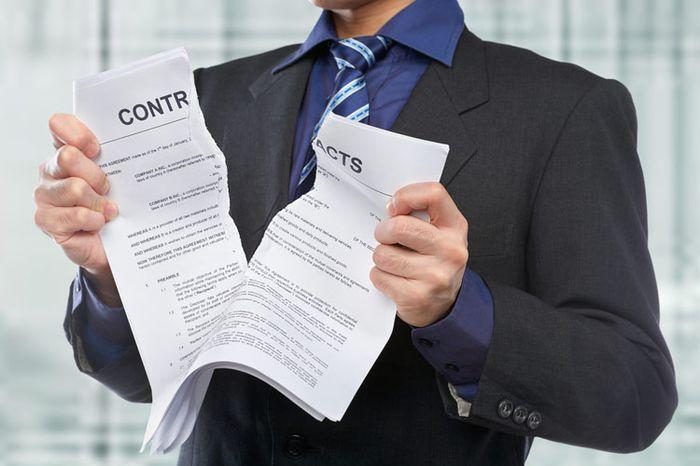 образец соглашения о расторжение договора по соглашению сторон