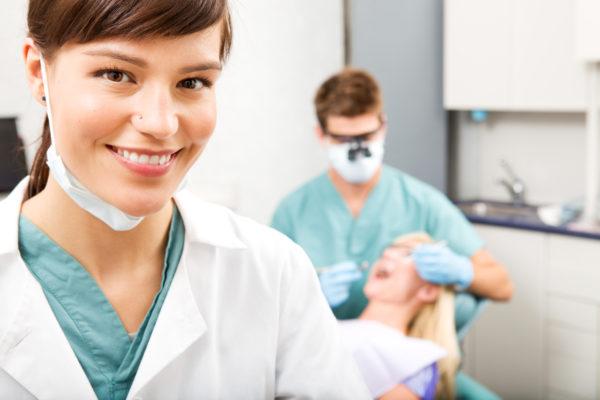 Санитарка в стоматологии