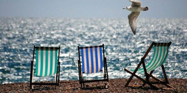 Время отпусков летом